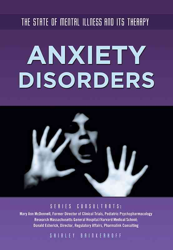 Anxiety Disorders By Brinkerhoff, Shirley
